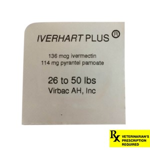 Rx Iverhart Plus, 26-50 lbs, 1 ct