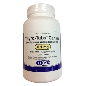 Rx Thyro Tabs, 0.1 mg x 1000 ct