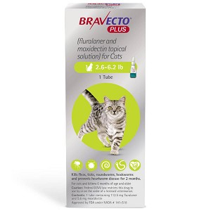 Bravecto Plus for Cats Rx