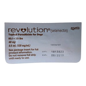 Rx Revolution, Brown Single Tab Dog 10.1 -20 lb