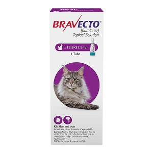 Rx Bravecto Topical for Large Cats, 13.8-27.50 lbs