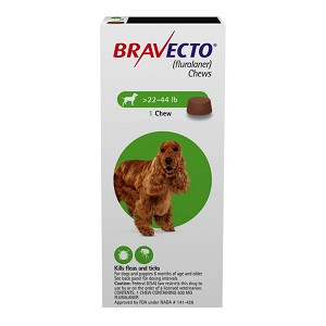 Bravecto Chews for Dog, Rx