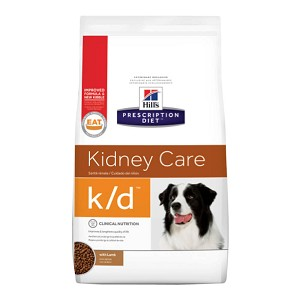 Science Diet Rx k/d Canine with Lamb 8.5 lbs