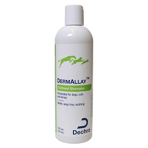 DermAllay Oatmeal Shampoo for Dogs, Cats, and Horses, 12 fl oz
