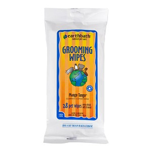 Grooming Wipe Mango Tango Mango Essence 28 ct