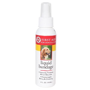 Kwik-Stop Liquid Bandage Spray, for Dogs and Cats, 4oz