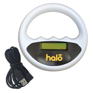 Halo Microchip Scanner, White