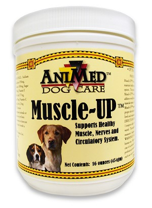 Muscle Up Powder for Dogs, 16 oz