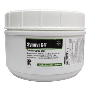 Synovi G4 Soft Chews for Dogs, 60 ct