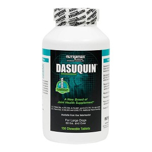 Dasuquin for Dogs 60 lbs and Over, 150 Chew Tabs