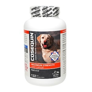 Cosequin DS Joint Health Supplement Plus MSM for Dogs, 132 Chew Tabs