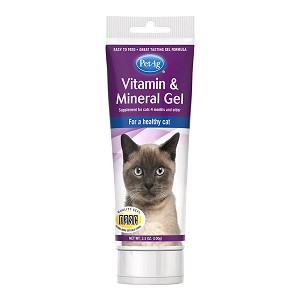 Vitamin & Mineral Gel, Cat, 3.5 oz.