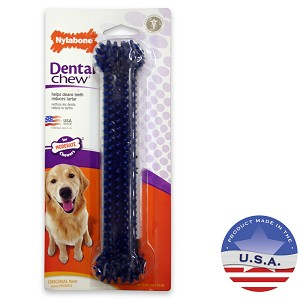NylaBone Dental Chew, Bone, Original Flavor, Large Dog up to 50 lbs