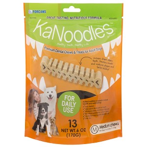 KaNoodles for Medium Dogs, 6 oz, 13 Chews