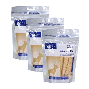 C.E.T. HEXtra Premium Petite Chews, for Dogs, 30 ct, 3 pk