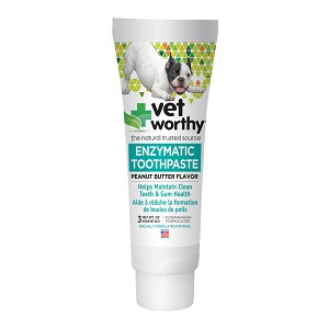 Vet Worthy, Enzymatic Toothpaste, Peanut Butter Flavor, for Dogs, 3 oz