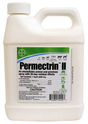 Permectrin II, 32 oz Bottle