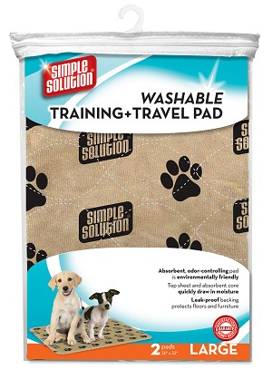 Simple Solution Washable Training & Travel Pads