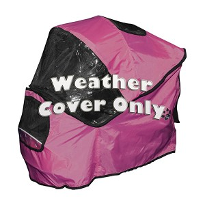 Weather Cover for Special Edition Pet Stroller, Pink