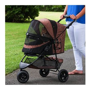 Happy Trails No-Zip Special Edition Stroller, Chocolate