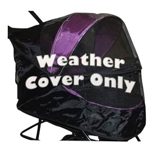 Weather Cover for No-Zip Special Ediiton Stroller, Pink