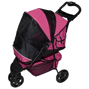 Special Edition Pet Stroller, Pink