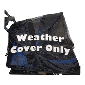 Weather Cover for No-Zip Jogger Pet Stroller, AT3, Midnight Blue