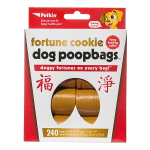 Fortune Cookie Dog Poopbags, 240 Count