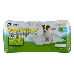 Paw Trax Doggy Pads 50ct