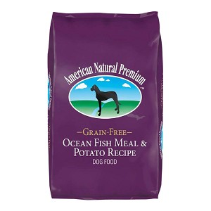 American Natural Premium Dog Food, Grain-Free, Ocean Fish & Potato, 4 lbs