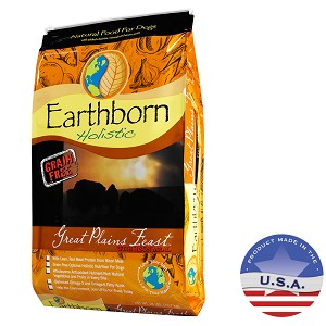 Earthborn Holistic Great Plains Feast Natural Dog Food, 28 lbs