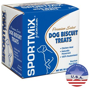 Sportmix Cheese Biscuit, 20 lbs