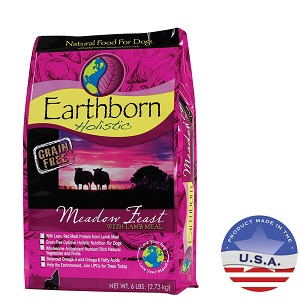 Earthborn Holistic Meadow Feast Natural Dog Food, 5 lbs