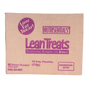 NutriSentials Lean Treats for Dogs, 4 oz, 10 pk