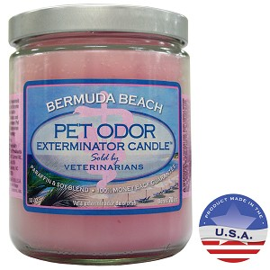 Pet Odor Exterminator Candles, Multiple Scents, Soy Blend