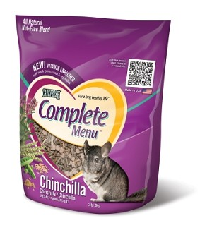 Carefresh Complete Menu - Chinchilla Food 2 lb