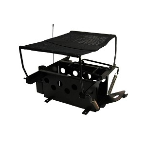 D.T. Systems Remote Bird Launcher without Remote for Quail and Pigeon Size Birds  Black