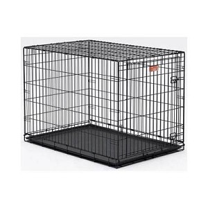 "Midwest Dog Single Door i-Crate Black 36"" x 23"" x 25"""