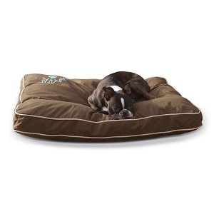 "K&H Pet Products Just Relaxin' Indoor/Outdoor Pet Bed Medium Chocolate 28"" x 36"" x 3.5"""