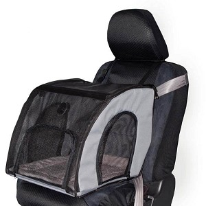 "K&H Pet Products Pet Travel Safety Carrier Medium Gray 24"" x 19"" x 17"""